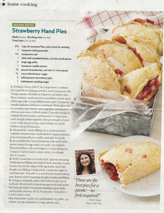 Fruit Turnover Pies