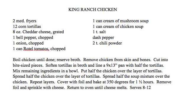 King Ranch Chicken