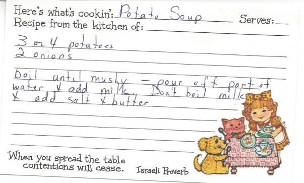 Simple Potato Soup