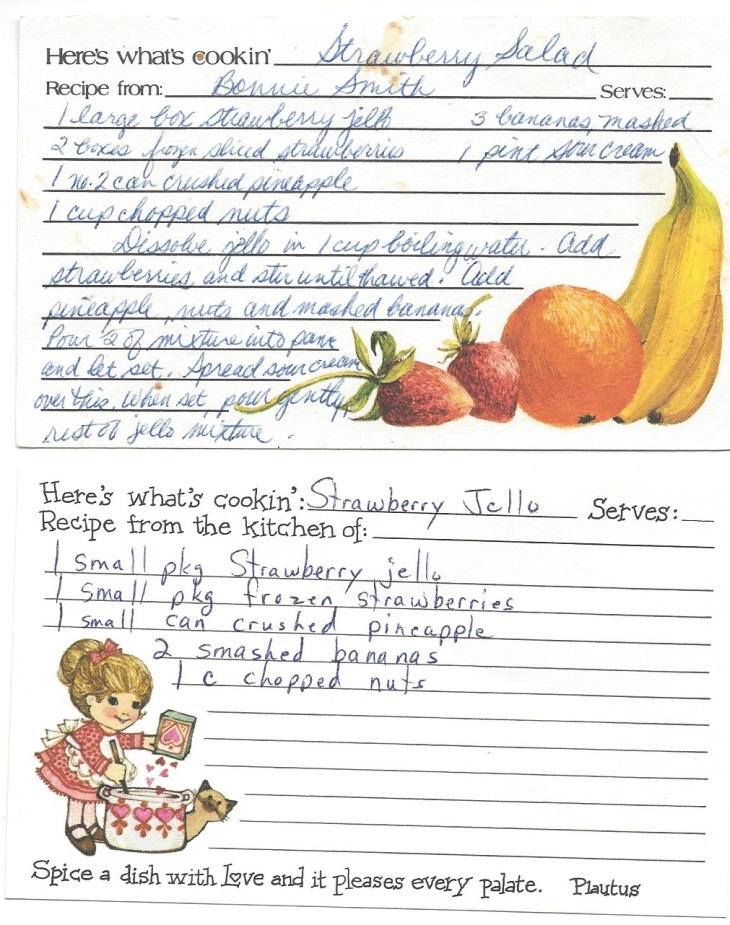 Strawberry Salad-Bonnie Smith