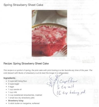 Strawberry sheet cake pg1