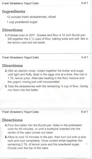 Strawberry Yogurt Cake pg2