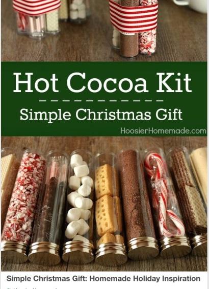 Hot cocoa mix idea