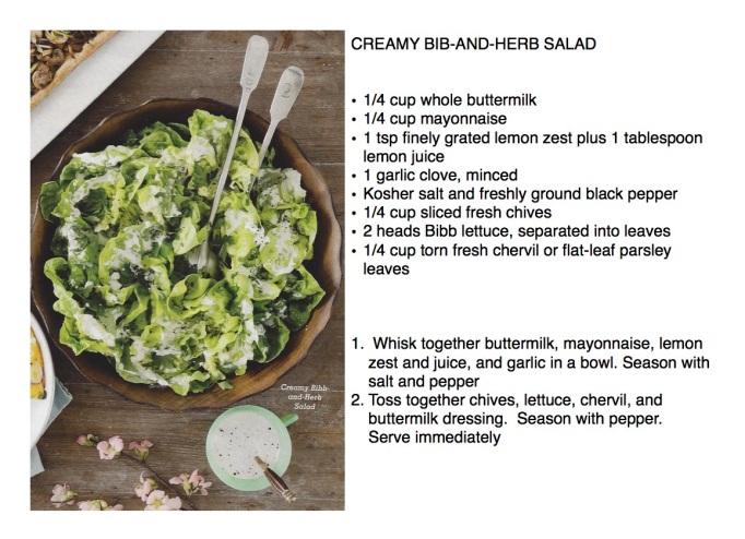 Creamy Bibb-and-herb salad