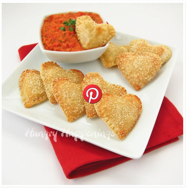 Mozzarella Cheese filled hearts pics