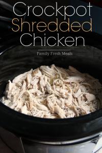 Easy-Shredded-Crockpot-Chicken-Recipe-Family-Fresh-Meals