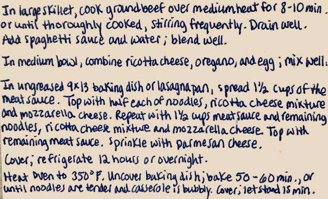 Lazy Day Overnight Lasagna2