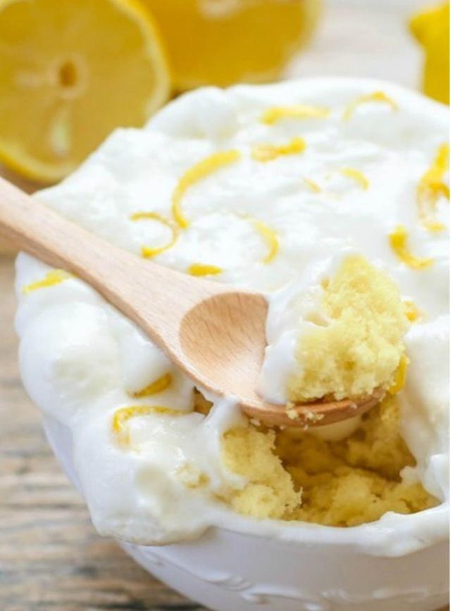 Lemon Mug Cake